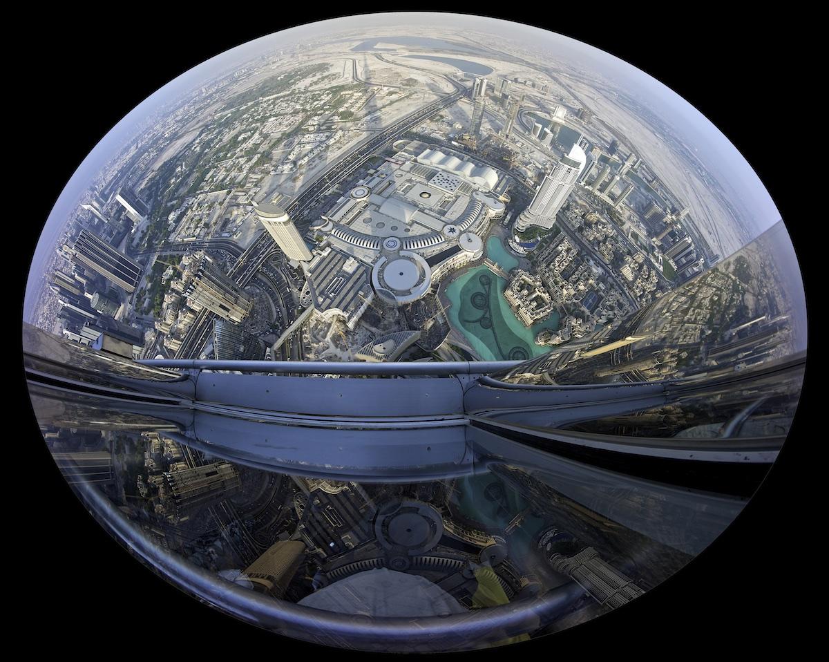 Dubai from Burj Khalifa
