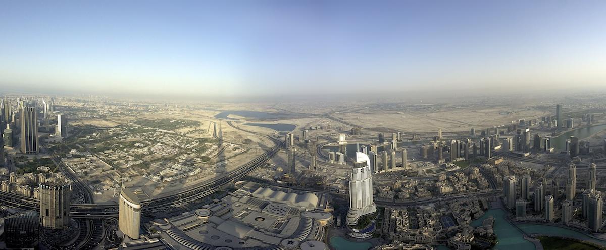 View from Burj Khalifa 014